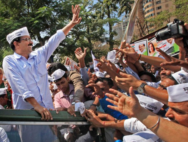 Arvind Kejriwal wins Time 100 readers' poll, beats Modi