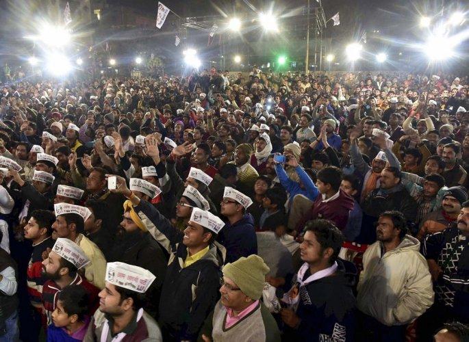 Delhi polls: AAP accuses BJP of trying to buy votes