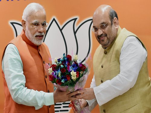 Modi and Shah should quit if BJP fares poorly in Delhi polls: Cong