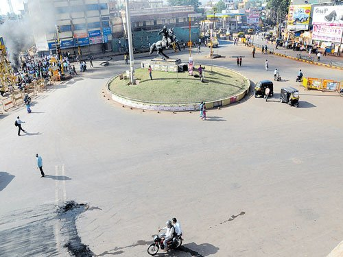 Bandh for IIT total, peaceful in twin cities