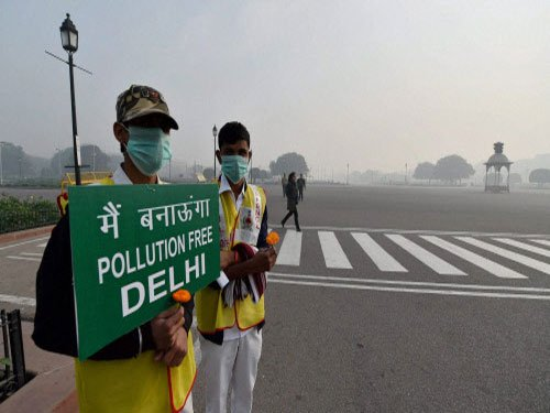 Over 50 pc drop in air pollution recorded on Sat: Delhi govt