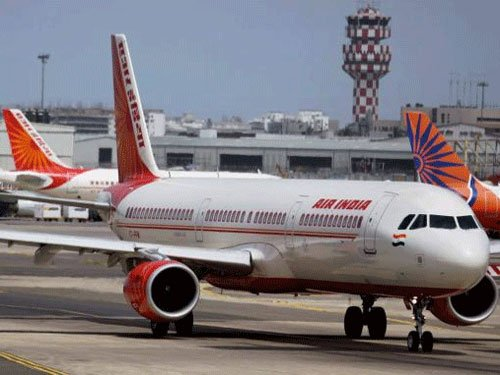 AI flight lands at IGI Airport under emergency conditions
