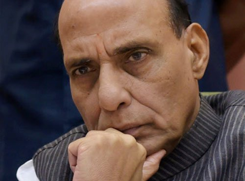 Rajnath faces more calls to give proof for claim on Hafiz hand in JNU