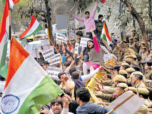 NHRC notices on JNU row, Patiala House Courts attack