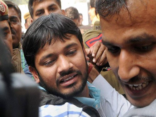 Lawless lawyers thrash JNU student leader in court