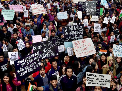 JNU row: Protests in several cities, Kumar moves SC for bail