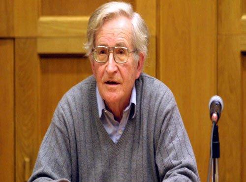 Why were police called, Chomsky asks  JNU V-C