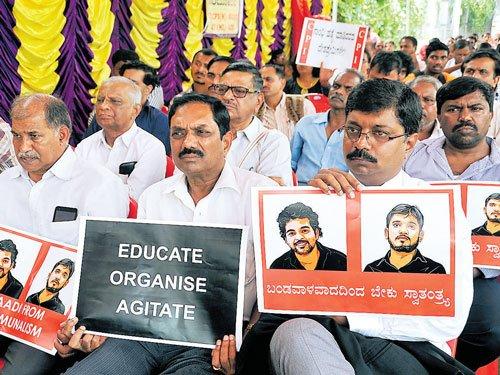 Bengaluru group lends support to JNU cause