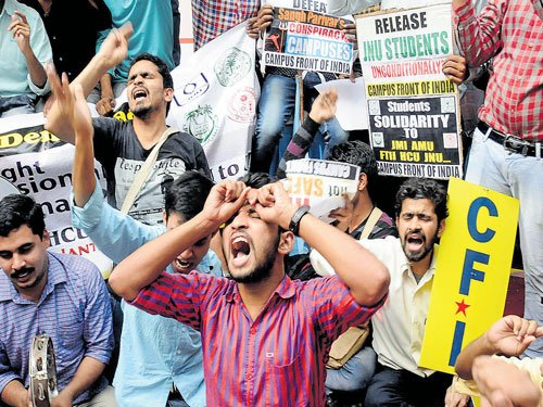 JNU decision on probe report soon