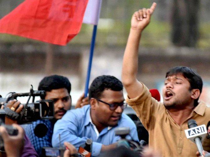 JNU hunger strike enters 9th day, Kanhaiya's condition better