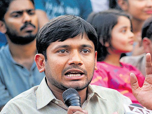 JNU to probe forging of Kanhaiya's signature