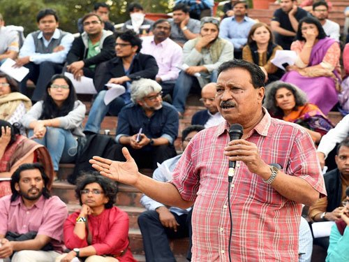 JNU to deduct salary of teachers for participating in strike