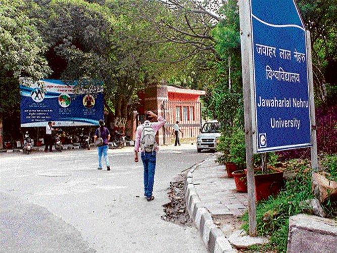 JNU rejoices national ranking, students slam fellowship delays