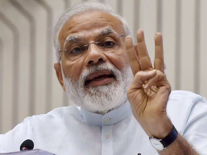 Modi expresses gratitude to Delhiites for MCD poll win