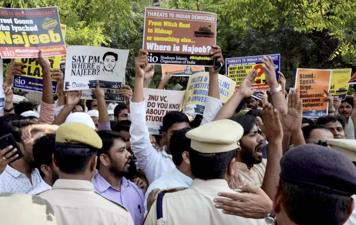 JNU missing student: Court allows CBI's plea