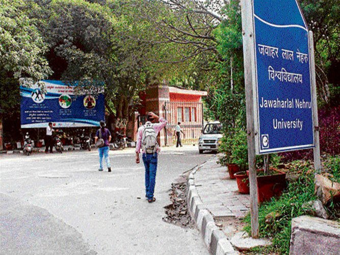 Another JNU student 'goes missing'
