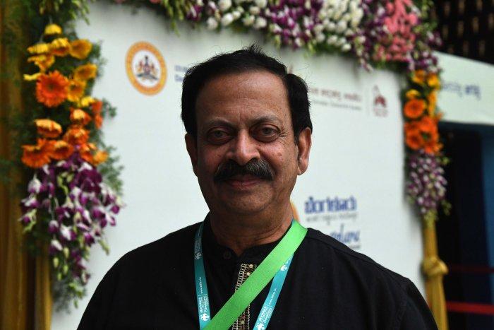 Actor and Theatre personality Srinivasa Prabhu. DH Photo by Shivakumar BH