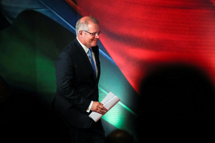 Morrison pointed to a recent Erdogan column in the Washington Post as progress. Reuters file photo.