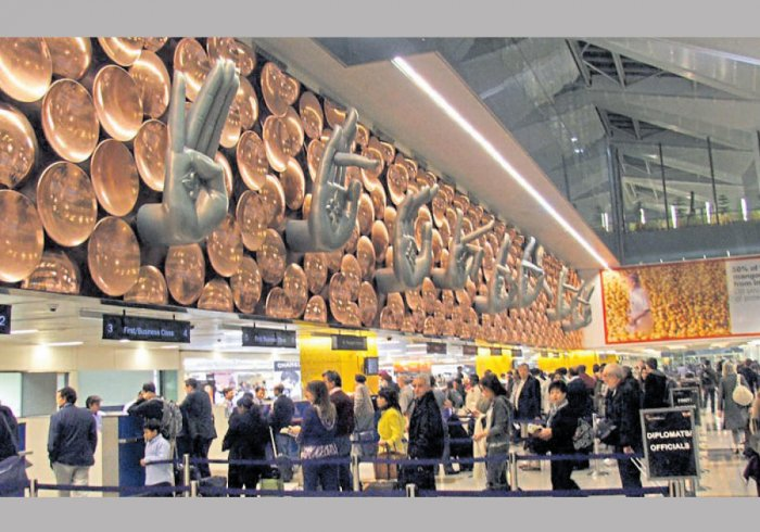 Delhi airport. DH file photo