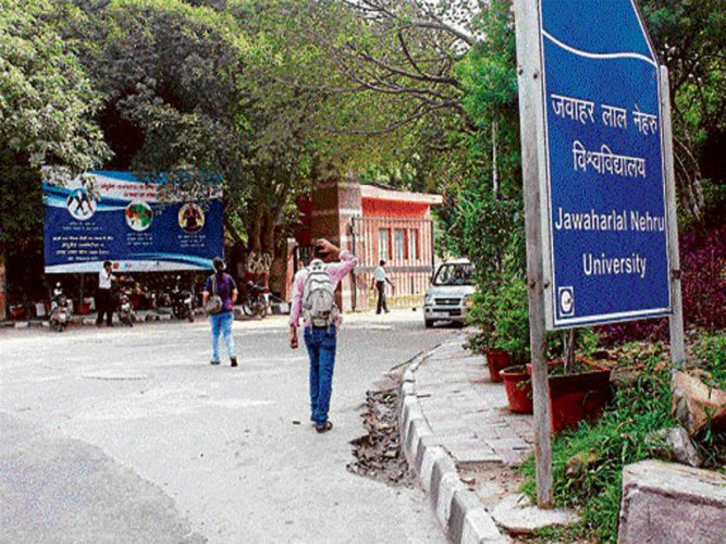 "In its reply to a notice by the Delhi Minorities Commission, the JNU administration has said no course on ""Islamic terrorism"" was proposed in the academic council meeting of the university, DMC chairman Zafarul Islam Khan said today. File photo"