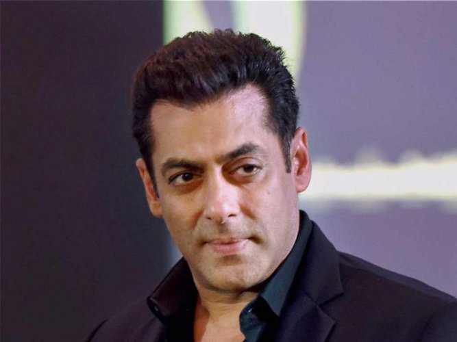 Bollywood superstar Salman Khan. PTI file photo