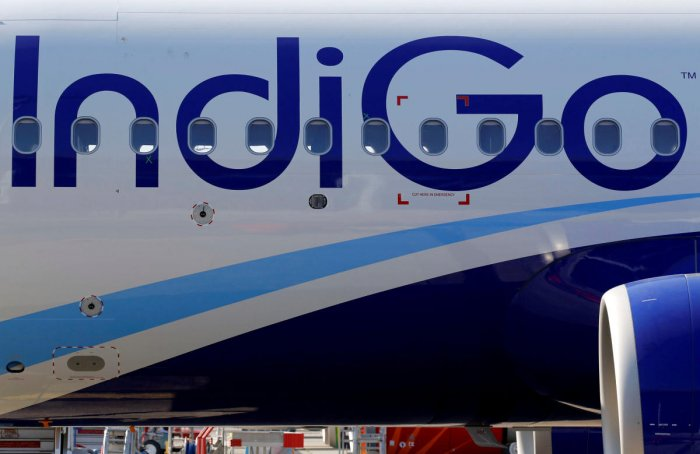 IndiGo, India's largest airline by market share, decided in mid-February that it will operate about 30 fewer flights each day till March-end as it has been battling a shortage of pilots. Reuters File Photo