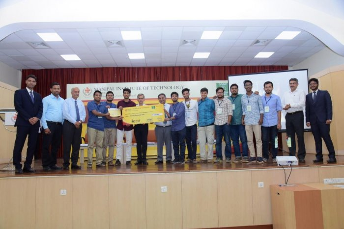 IIT Madras team emerged winners in the Indian Rover Challenge held at MIT in Manipal.