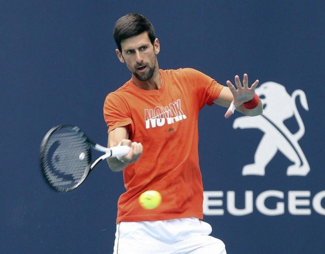 Novak Djokovic. AP/PTI File Photo