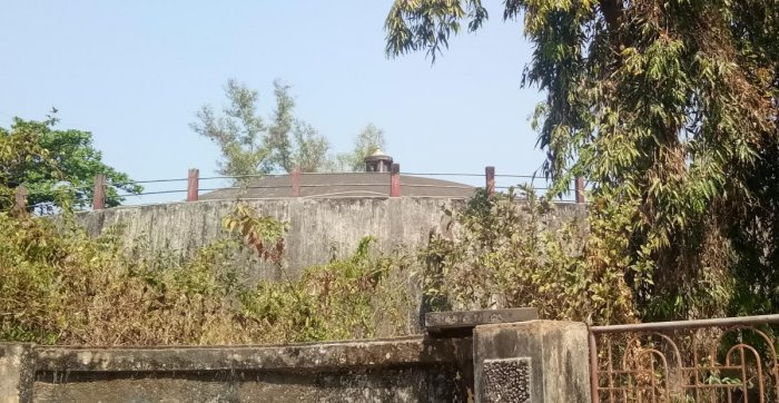 The Mangaluru City Corporation water tank at Bendoor.