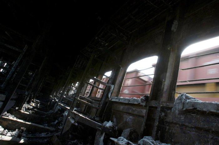 The blast on the India-Pakistan train took place near Panipat in Haryana on February 18, 2007, when it was on its way to Attari in Amritsar, the last station on the Indian side. Reuters File Photo