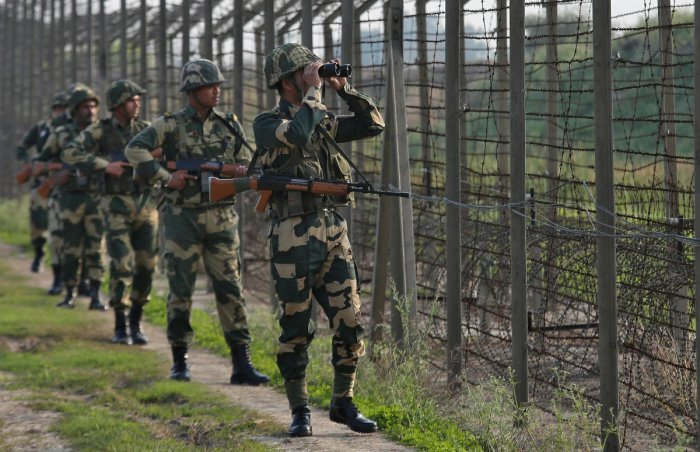 Pakistani troops have violated the ceasefire over 110 times along the LoC since January. Reuters File Photo