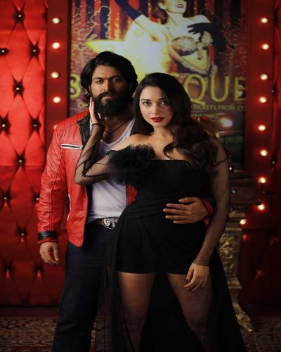 Actor Yash and actress Srinidhi Shetty