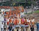 Sri Ram Sene activists protest in Bababudangiri
