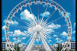 Catch a view of Mysore's beauty from skywheel