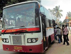 No end in sight over wait  for city transport in Kolar