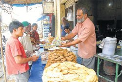 Mouth watering delicacies in Chikmagalur