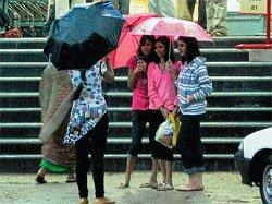 Cloudburst in Mysore city;two hurt