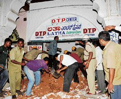 Four die in Mysore buildling collapse