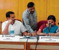 Kolar Zilla Panchayat members see red over apathy of Social Welfare officer