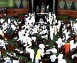 Parliament adjourned over differences on FDI