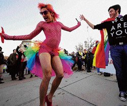 Fight for gay marriage goes to US Supreme Court