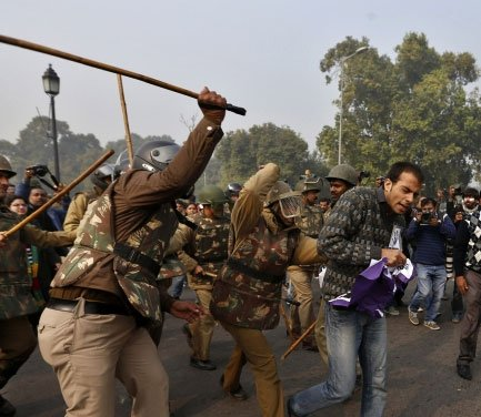 Lathi-charge is history: Delhi Police get 'softer' batons