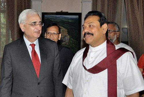 Parliament will decide on 13th Amendment, Rajapaksa tells Khurshid