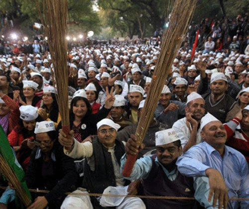 AAP says minister detained, police deny