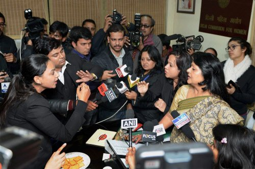 AAP govt harassing me for summoning Bharti: DCW chief
