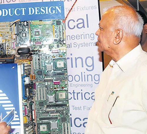 'Electronics mfg clusters in Mysore, B'lore'