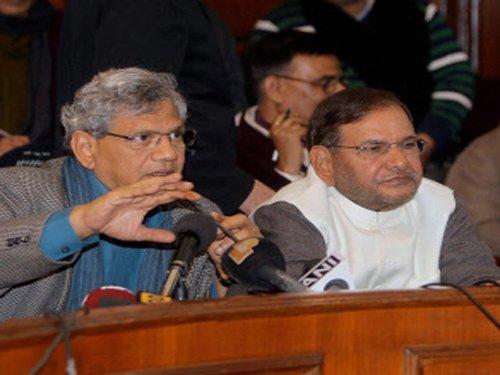 Third Front parties unite in parliament