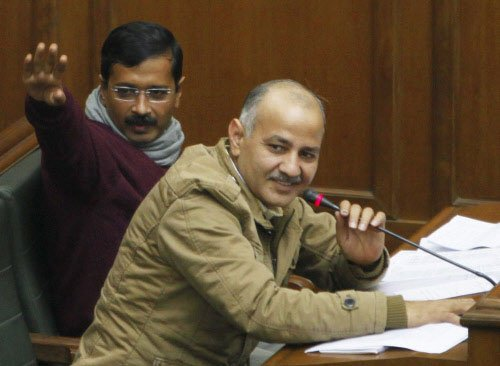 AAP to table Jan Lokpal Bill in Delhi assembly tomorrow