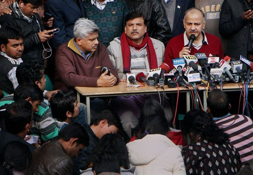 AAP announces first list of LS poll candidates