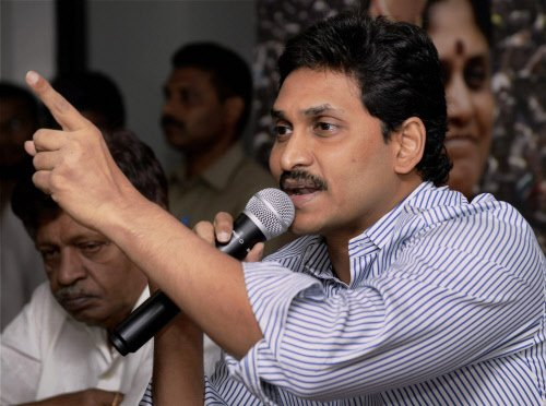 Congress engineered chaos in parliament: Jaganmohan Reddy